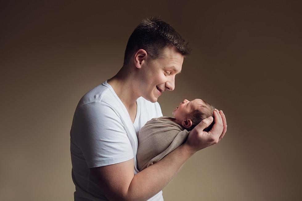 pasgeboren baby