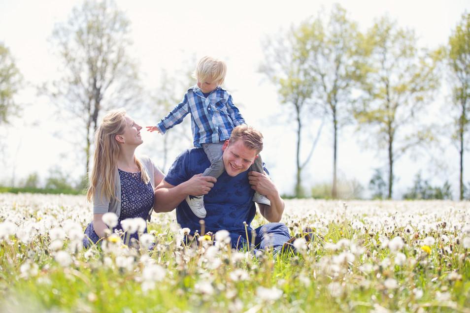 Familieshoot in Westerbork, Drenthe
