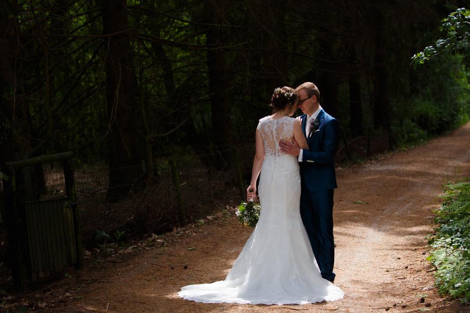 Bruidsreportage in mei (Zeegse, Drenthe)