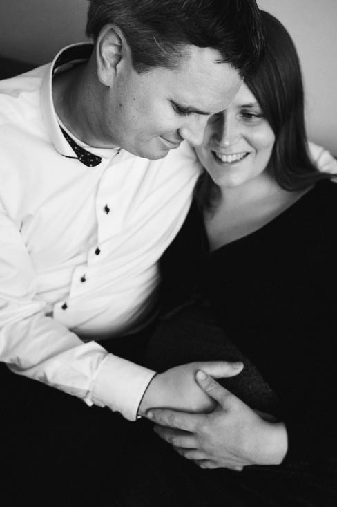 Natuurlijke zwangerschapsfotografie