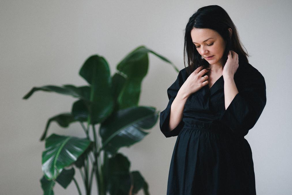 zwangerschapsreportage thuis