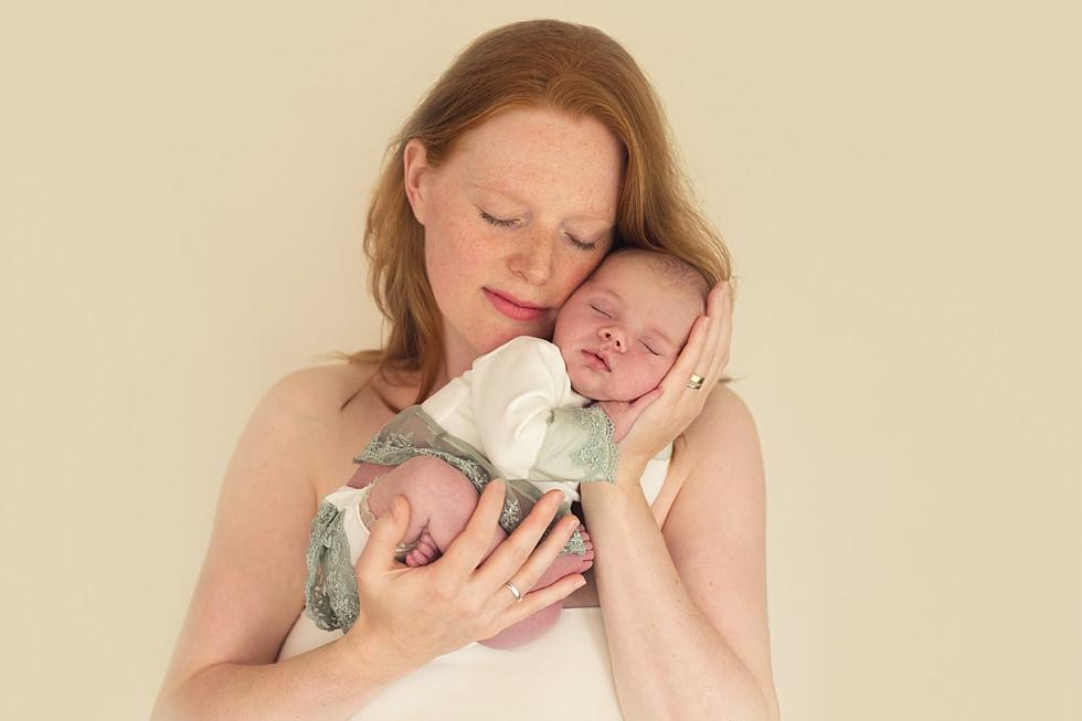 pasgeboren foto