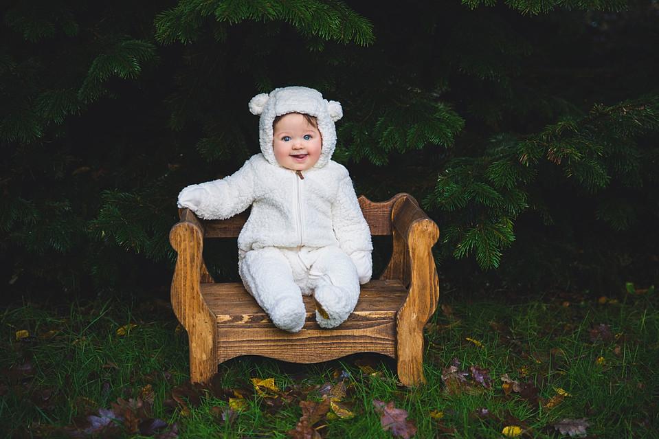 baby fotoreportage buiten