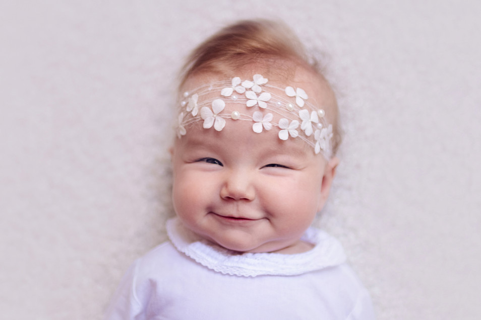 Fine art baby fotoshoot in studio Assen