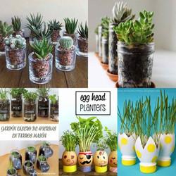 Сажать растения
