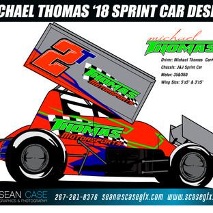 Michael Thomas 358/360 Sprint Car