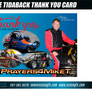 Thank You from Tidaback