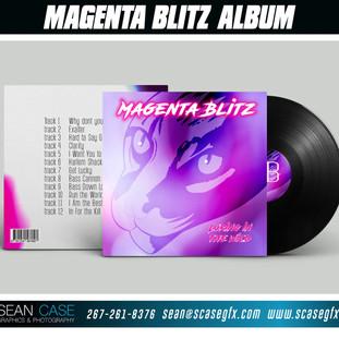 Magenta Blitz Album Cover