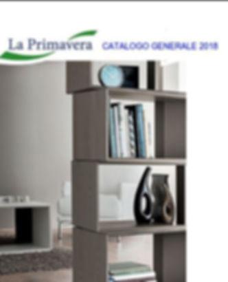 La Primavera Catalogo Generale 2018 (Cov