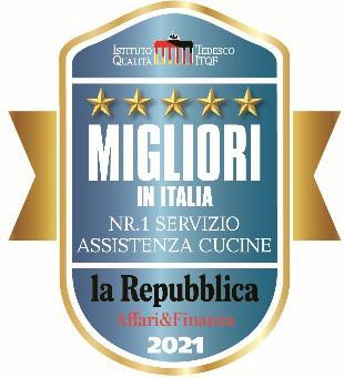 Scavolini Migliori in Italia. Nr. 1 Servizio assistenza Cucine