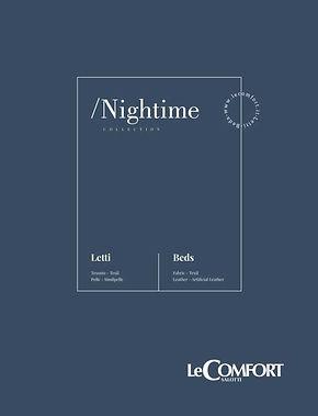 LeComfort catalogo Letti Nightime (Cover