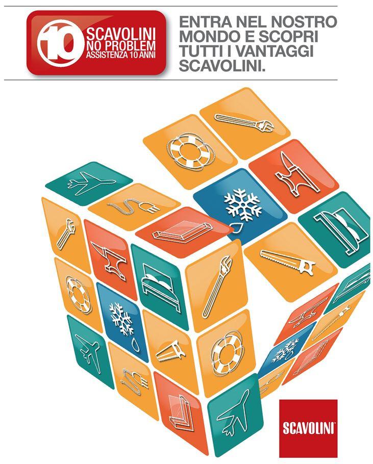 La garanzia gratuita con Polizza offerta da Scavolini per tutelare il tuo acquisto per 10 anni