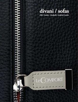 LeComfort catalogo Divani Pelle (cover).