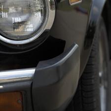 Car headlight and bumper
