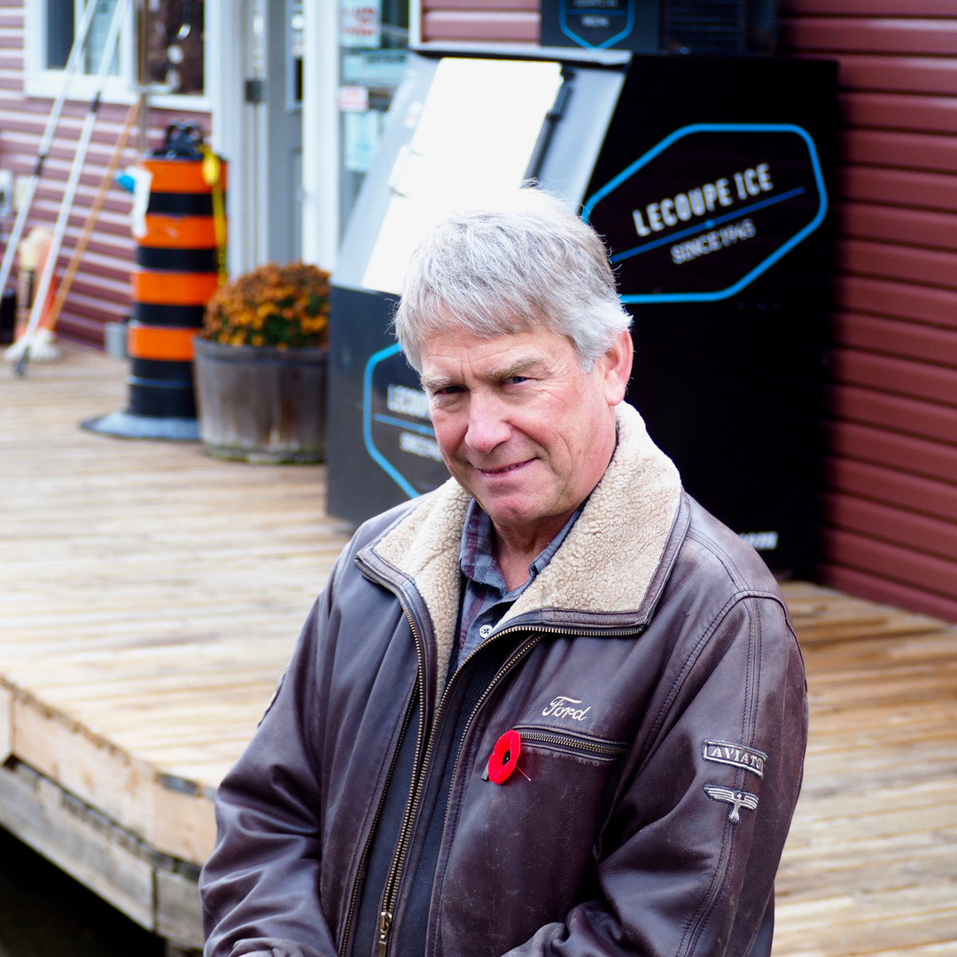 MPP Norm Miller at Point Pleasant Marina