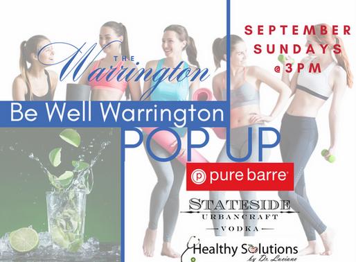 Be Well Warrington Pop Up