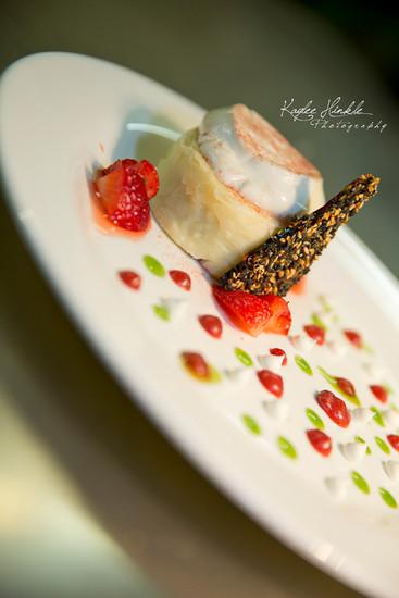 White Chocolate Sesame Cake