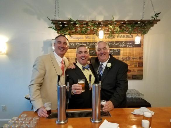 Beer Garden Toast
