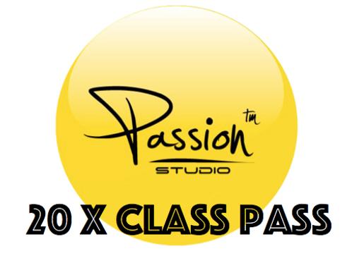 20 x Class Pass