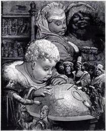 L'éducation de Gargantua (Gustave Doré)