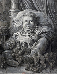 L'enfance de Pantagruel