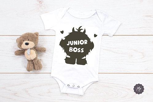 Plottdesign - Junior Boss - Monsterstatement