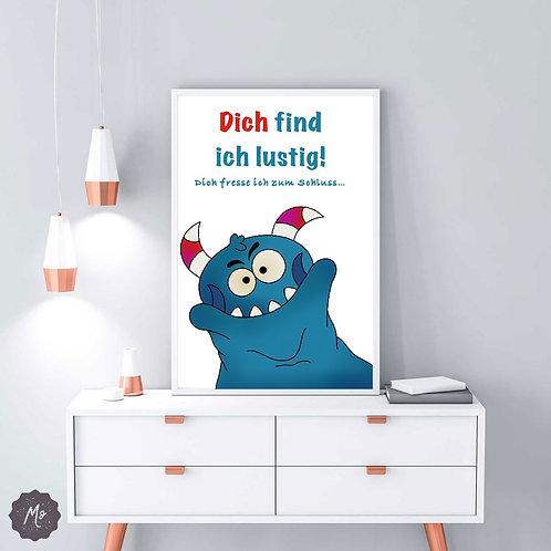 Poster - zum Fressen gern