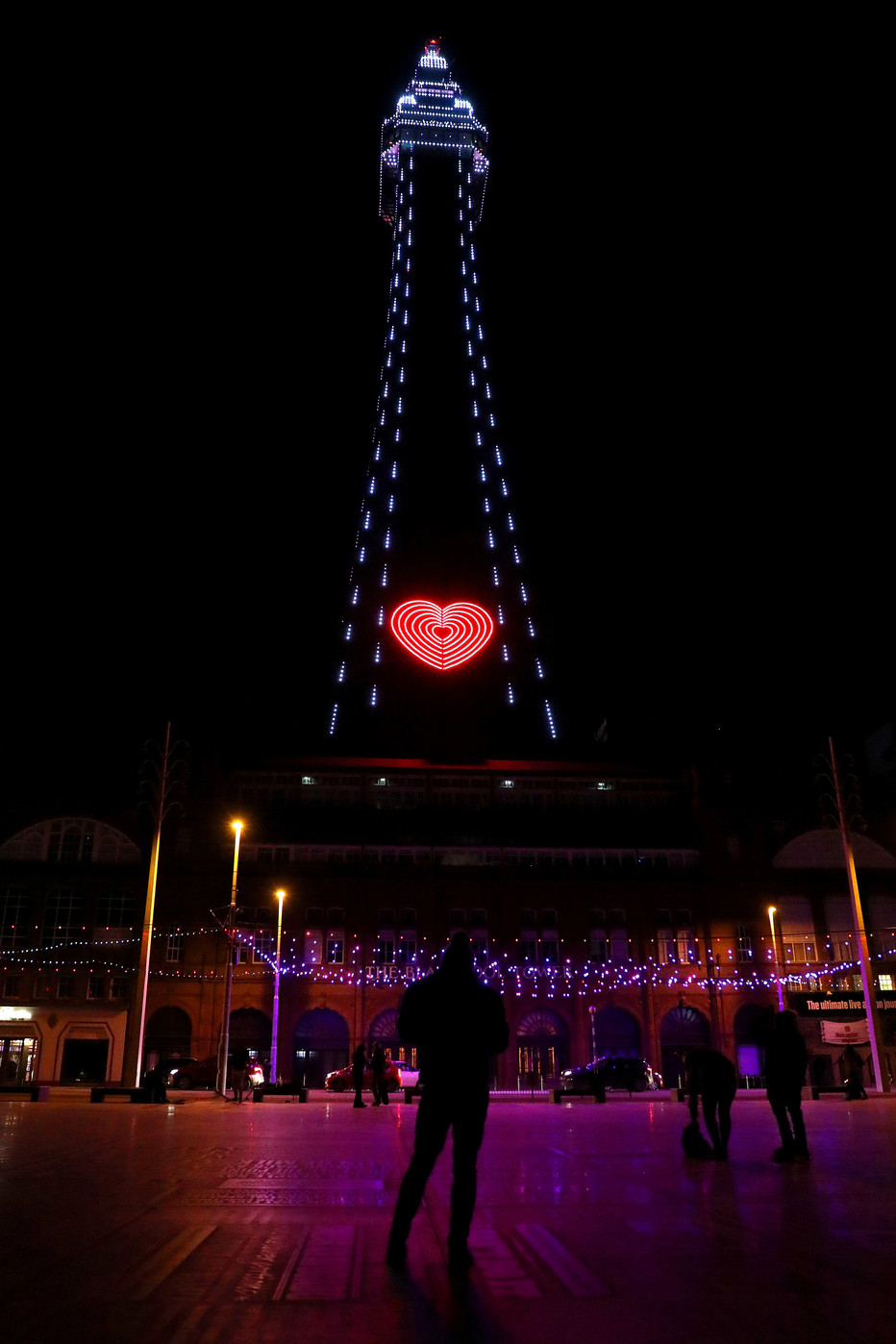 Blackpool Tower - COVID-19