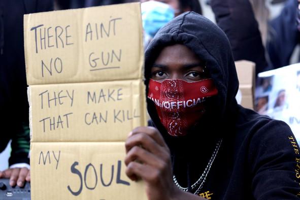 Manchester Black Lives Matter Protest