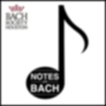 logo. Notes on Bach