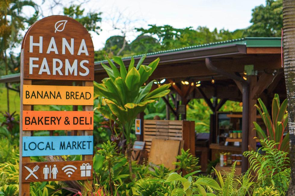 Hana Farms Roadside Stand Sign