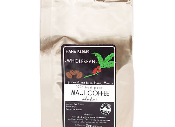 Hāna Farms 100% Maui Coffee - Whole Bean