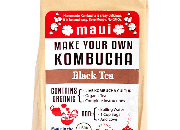 Homemade Kombucha Kit - Black Tea