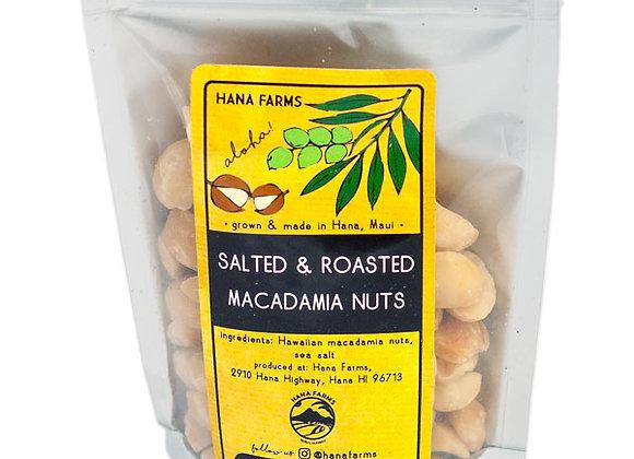 Salted & Roasted Macadamia Nuts