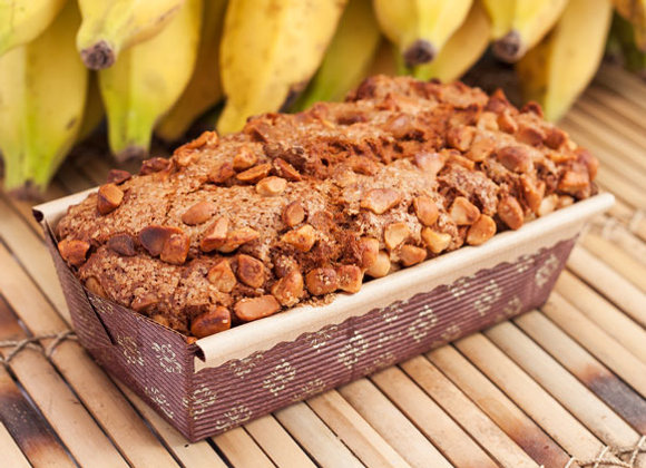 Hāna Farms Hawaiian Macadamia Nut Banana Bread