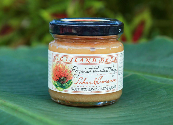 Big Island Bees Lehua & Cinnamon Honey