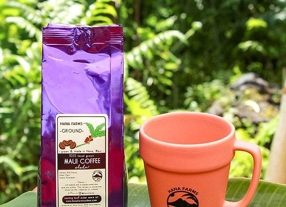 Hana Farms Mug & Coffee Set (Terracotta)
