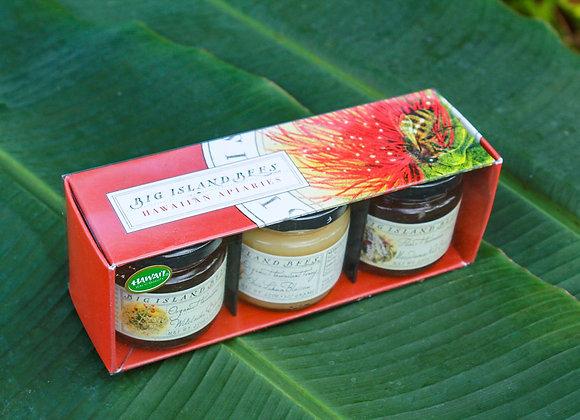 Big Island Bees Gourmet Honey Sampling Set