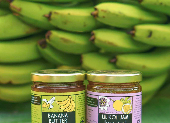 Hāna Farms Lilikoi Jam and Banana Butter Set