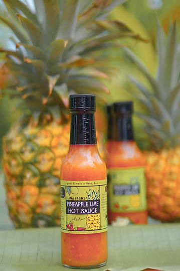 Hana Farms Pineapple Lime Hot Sauce