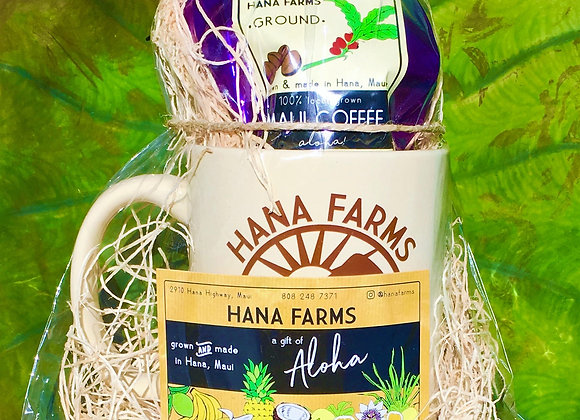 Hāna Farms Coffee & Mug Gift Set