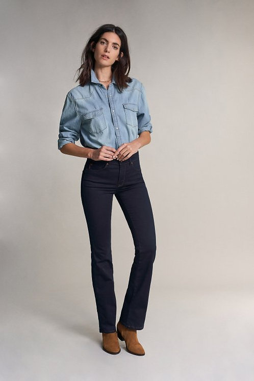 122721 JEANS SECRET PUSH IN COUPE BOOTCUT