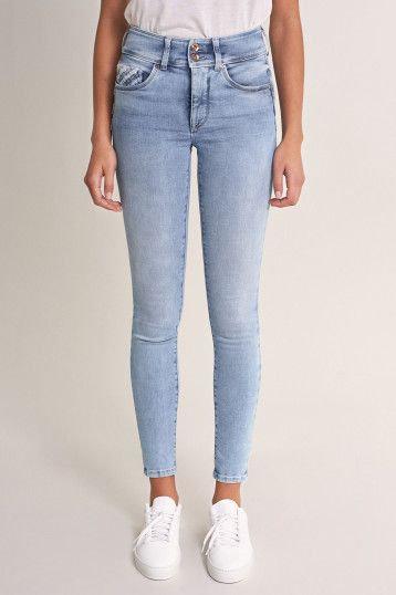 125013Jeans Push In Secret skinny avec détails