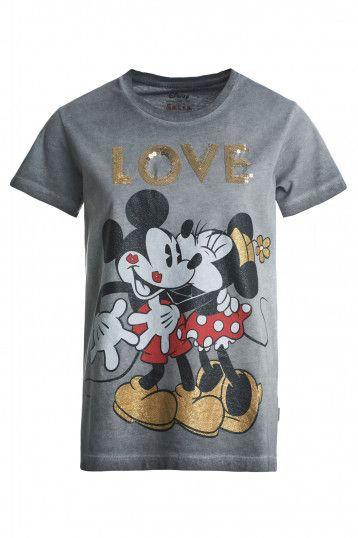 """124997 T-shirt """"LOVE"""" Mickey et Minnie"""