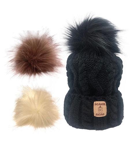 Coffret Bonnet Beanie Bear Le Choco