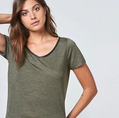 Tee Shirt Ariana Kaki LPB