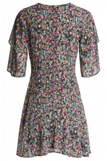 124821 Robe avec imprimé floral