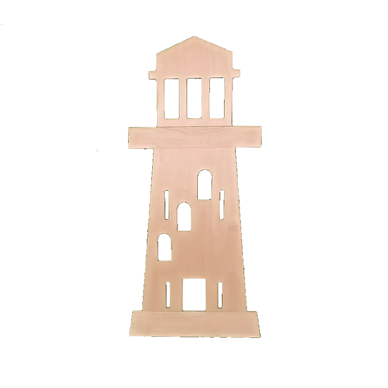 Panneau séparateur mobile en forme de phare