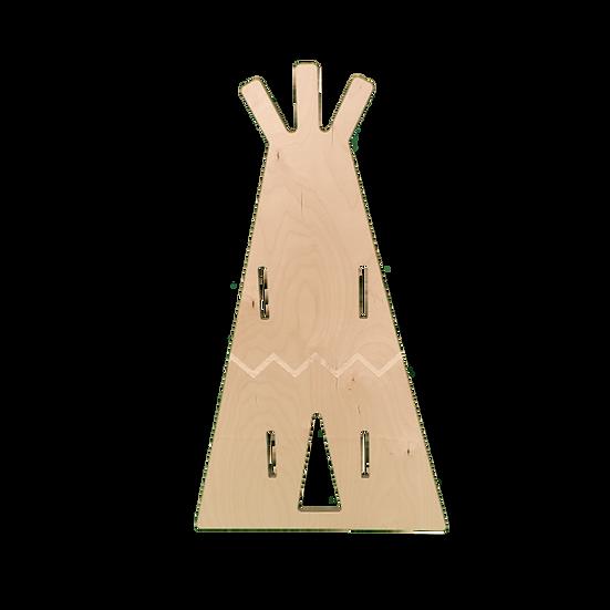 Panneau séparateur mobile en forme de Tipi