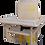 Chaise haute murale en bois
